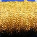 Arany színű lánc (32/A minta/1 m) - 2x1,5x0,5 mm, Gyöngy, ékszerkellék,  Arany színű lánc (32/A minta)  A szem mérete: 2x1,5x0,5 mm  A feltüntetett ár 1 méter láncr..., Alkotók boltja