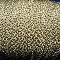 Bronz színű lánc (51/A minta/1 m) - 3x2x0,5 mm, Gyöngy, ékszerkellék,  Bronz színű lánc (51/A minta)  Mérete: 3x2x0,5 mm  A feltüntetett ár 1 méter láncra vonatko..., Alkotók boltja