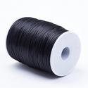 """Szatén zsinór - 2 mm (ZS31. minta/1 m) - fekete, Gyöngy, ékszerkellék,  Szatén zsinór - más néven """"patkányfarok"""" (ZS31. minta) - fekete  Kiválóan alkalmas fonási technikák..., Alkotók boltja"""