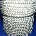 Sodrott zsinór - 5 mm (ZS0S/1 m) - fehér, Gyöngy, ékszerkellék, Ékszerkészítés,  Sodrott zsinór (ZS0S) - fehér  Színes nylon sodrott zsinórAjánlott karkötők, nyakláncok készítéséh..., Alkotók boltja