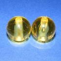Akril gyöngy-21 (1 db) - sárga gömb, Gyöngy, ékszerkellék,     Akril gyöngy-21 - gömb - sárga   Mérete: 20 mmFurat mérete: 5 mm  Az ár 1 darab termékre ..., Alkotók boltja