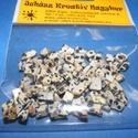 Ásványgyöngy-14 (100 db) - dalmata, Gyöngy, ékszerkellék,  Ásványgyöngy-14 - dalmata  Mérete: 5-15 mm  A csomag 100 db ásványgyöngyöt tartalmaz. Az á..., Alkotók boltja