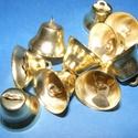 Harang (20 mm/1 db) - arany, Vegyes alapanyag,   Harang - arany színben    Mérete: 20 mm    Az ár 1 db harangra vonatkozik.   , Alkotók boltja