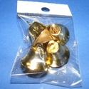 Harang (20x12 mm/5 db) - arany, Vegyes alapanyag, Mindenmás,   Harang - arany színben    Mérete: 20x12 mm    Az ár 5 db harangra vonatkozik.   , Alkotók boltja