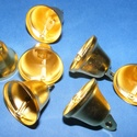 Harang (22 mm/1 db) - arany, Vegyes alapanyag,   Harang - arany színben    Mérete: 22 mm    Az ár 1 db harangra vonatkozik.   , Alkotók boltja
