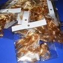 Babahaj (kb. 10 cm) - aranyszőke, Dekorációs kellékek, Figurák, Mindenmás,  Babahaj - aranyszőke  Báb és babakészítéshez ajánlott haj    A csomag tartalma: kb. 10 cm hosszú..., Alkotók boltja