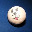 Figura fej (Ø 30 mm) - kutya, Dekorációs kellékek, Figurák, Mindenmás,  Figura fej - kutya    Mérete: Ø 30 mmAnyaga: papír  Az ár egy darab termékre vonatkozik.  A term..., Alkotók boltja