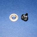 Stiftes orr (3. minta/1 db) - 15x12 mm, Dekorációs kellékek, Figurák, Mindenmás,  Stiftes orr (3. minta)     Mérete: 15x12 mmHátsó rész: 11 mmRögzítő elem mérete: 18 mm    Az á..., Alkotók boltja