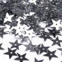 Flitter-63 (3 g) - ezüst (csillag), Gyöngy, ékszerkellék, Varrás,  Flitter-63 - ezüst - csillag  Mérete: Ø 13 mmA furat mérete: 1 mm  Kiszerelés: 3 g (kb. 150 ..., Alkotók boltja