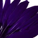 Dekorációs indián toll-17 (10 db) - sötétkék (kicsi), Vegyes alapanyag, Mindenmás,  Dekorációs indián toll-17 - sötétkék   A tollak mérete: 10-14 cm A csomag tartalma 10 db madártol..., Alkotók boltja