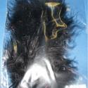 Dekorációs toll-64 (10 db) - fekete, Vegyes alapanyag, Mindenmás,  Dekorációs toll-64 - fekete  A tollak mérete: 10-15 cm A csomag tartalma 10 db madártoll. Az ár e..., Alkotók boltja