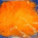 Dekorációs vágott toll-73 (20 db) - narancssárga, Vegyes alapanyag, Mindenmás, Dekorációs vágott toll-73 - narancssárgaA tollak mérete: 7-10 cmA csomag tartalma 20 db madártoll.A..., Alkotók boltja