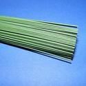Zöld vágott drót (Ø 1,0 mm/5 szál) - 55 cm, Vegyes alapanyag,   Vágott drót - zöld  Vastagsága: Ø 1,0 mmHossza: 55 cm    Az ár 5 szál drótra vonatkozik...., Alkotók boltja