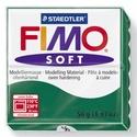 Fimo soft-56 (1 db) - smaragd, Vegyes alapanyag,  Fimo soft - 56 - smaragd  Mérete: 55x55 mmSúlya: 56 g  Felhasználási javaslat: Gyúrd át a FI..., Alkotók boltja