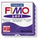 Fimo soft-63 (1 db) - szilva, Vegyes alapanyag,  Fimo soft - 63 - szilva  Mérete: 55x55 mmSúlya: 56 g  Felhasználási javaslat: Gyúrd át a FIM..., Alkotók boltja