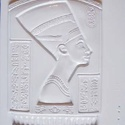 Egyéb-2 - gipszöntő forma (1 motívum) - Nefertiti, Szerszámok, eszközök, Egyéb szerszám, eszköz, Gipszöntés,        Egyéb-2 - gipszöntő forma - Nefertiti  Mérete: - sablon: 35x25 cm- minta: 26x21 cm Az ár egy..., Alkotók boltja