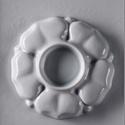 Mécses-14 - gipszöntő forma (1 motívum) - virág, Szerszámok, eszközök, Egyéb szerszám, eszköz, Gipszöntés,           Mécses-14 - gipszöntő forma - virág  - sablon: 13x20 cm- minta: Ø 9,5 cm Az ár egy darab ..., Alkotók boltja