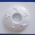 Mécses-28 - gipszöntő forma (1 motívum) - rénszarvas mintás , Szerszámok, eszközök, Egyéb szerszám, eszköz, Gipszöntés,              Mécses-28 - gipszöntő forma - rénszarvas mintás  - sablon: 15x20 cm- minta: Ø 12 cm Az..., Alkotók boltja