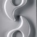 Mécses-21 - gipszöntő forma (1+1 motívum) - jin - jang, Szerszámok, eszközök, Egyéb szerszám, eszköz, Gipszöntés,            Mécses-21 - gipszöntő forma - jin & jang  - sablon: 13x22,5 cm- minta: 10x6 cm Az á..., Alkotók boltja