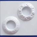Mécses-40 - gipszöntő forma (2 motívum), Szerszámok, eszközök, Egyéb szerszám, eszköz, Gipszöntés,          Mécses-40 - gipszöntő forma   - sablon: 15x16 cm- minta: Ø 7,5 cm Az ár egy darab termékre..., Alkotók boltja