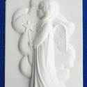 Vallás-20 - gipszöntő forma (1 motívum) - angyal, Szerszámok, eszközök, Egyéb szerszám, eszköz, Gipszöntés,       Vallás-20 - gipszöntő forma - angyal  Mérete: - sablon: 16x24 cm- minta: 20x11 cm Az ár..., Alkotók boltja