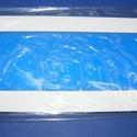 Viaszlap (175x80 mm) - kék, Vegyes alapanyag, Gyertya, Gyertyaöntés,    Gyertyafólia viaszlap - kék  Mérete: 175x80 mm Az öntapadós, vékony viaszfólia  segítségével el..., Alkotók boltja