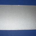 Viaszlap (20x10 cm) - ezüst, Vegyes alapanyag, Gyertya, Gyertyaöntés,  Viaszlap - ezüst  Mérete: 20x10 cm Az öntapadós, vékony viaszfólia  segítségével elkészítheti az ..., Alkotók boltja