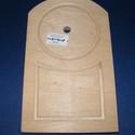 Fa óralap (11x18,5 cm/1 db) - boltíves, Órakészítés, Óralapok, Alkotók boltja