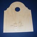 Fa óralap (21x25 cm/1 db) - íves, Órakészítés, Óralapok, Mindenmás,  Fa óralap - íves - támasztólábakkal (2 db)    Mérete: 21x25 cmAnyaga: natúr rétegelt lemez, nem ..., Alkotók boltja