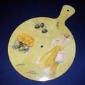 Műanyag óralap (33x24 cm/1 db) - olivabogyó, Órakészítés, Óralapok, Mindenmás,    Műanyag óralap - olivabogyó  Mérete: 33x24 cm (számlap átmérő: Ø 24 cm)Vastagsága: 4 mmFurat: 8 ..., Alkotók boltja