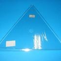 Üveg óralap (22 cm/1 db) - háromszög, Órakészítés, Óralapok, Mindenmás,  Üveg óralap - háromszög    Mérete: 22 cmVastagság: 3 mm Az ár egy darab termékre vonatkozik., Alkotók boltja
