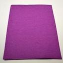 Dekorfilc (1,5 mm/kemény) - lila, Textil,  Dekorfilc - kemény - lila  Mérete: 30x20 cmVastagsága: 1,5 mm  A filc anyag, könnyen vágható,..., Alkotók boltja