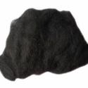 Festett gyapjú (5 g) - fekete, Textil,  Festett gyapjú - fekete  Kiszerelés: 5 g Többféle színben.Az ár 5 g termékre vonatkozik.  , Alkotók boltja