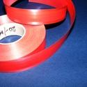 Kötözőszalag (20 mm/1 m) - piros csíkos, Textil,  Kötözőszalag - piros csíkos  Elsősorban virágkötészetben használt alapanyag. Erős, nagy szakítószil..., Alkotók boltja