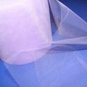 Tüll szalag (ZS113. minta/1 m) - lila, Textil,  Tüll szalag (ZS113. minta) - lila  Mérete: 125 mm Az ár 1 méter szalagra vonatkozik.     ..., Alkotók boltja