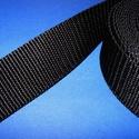 Gurtni (25 mm/1 m) - fekete, Textil,   Gurtni - fekete  Kiváló minőségű, nagyon erős klasszikus redőnygurtni.      Szélesség..., Alkotók boltja