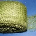 Jutaszalag (1 m) - oliva, Textil,  Jutaszalag - oliva  Nagyon szép dekorációs szalag hobbimunkákhoz.      A szalag szélesség..., Alkotók boltja