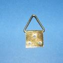 Képakasztó (4. minta/1 db) - 32x17 mm, Csat, karika, zár, Mindenmás,     Képakasztó (4. minta) - arany  Mérete: 17x32 mm (teljes hossz az akasztó résszel)A rögzítő lap..., Alkotók boltja