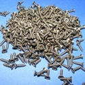 Csavar-8 (5x2 mm/10 db) - bronz, Csat, karika, zár, Mindenmás,  Csavar-8 - bronz színű  Mérete: 5x2 mmFejátmérő: 4 mm  A csomag tartalma 10 db csavar Az ár egy cs..., Alkotók boltja