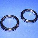 Öntött karika (476. minta) - 28 mm, Csat, karika, zár, Mindenmás,  Öntött karika (476. minta) - nikkel színben  Mérete: 25x2 mmAz ár 1 db termékre vonatkozik.  , Alkotók boltja
