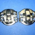 Doboz csat (12. minta/1 db) - ezüst, Csat, karika, zár, Mindenmás,  Doboz csat (12. minta) - ezüst színben  Mérete: 28x27 mm Az ár egy darab termékre vonatkozik.   , Alkotók boltja