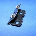 Zsanér - kitámasztós (24. minta/4 db) - 29 mm, Csat, karika, zár, Mindenmás,   Zsanér (24. minta) - kitámasztós   A zsanér mérete: 29x15 mmA furat mérete: 6 mmA nyílásszög: 0-4..., Alkotók boltja