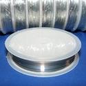Ékszerdrót (Ø 0,3 mm/1 db) - ezüst színű, Drót, Fűzőszál, Ékszerdrót - ezüst színűKiváló minőségű, fűzésre alkalmas ékszerdrót.Méret: Ø 0,3 mmA tekercsen kb...., Alkotók boltja
