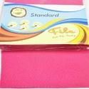 Dekorfilc (1 mm/puha) - pink, Textil,   Dekorfilc - puha - pink  Mérete: 30x20 cmVastagsága: 1 mm  A filc anyag, könnyen vágható, var..., Alkotók boltja