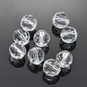 Akril gyöngy-47 (1 db) - átlátszó gömb, Gyöngy, ékszerkellék,  Akril gyöngy-47 - gömb - átlátszó  Mérete: 10 mmFurat mérete: 2 mm  Az ár 1 darab termékre..., Alkotók boltja