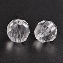 Akril gyöngy-46 (1 db) - átlátszó gömb, Gyöngy, ékszerkellék,    Akril gyöngy-46 - gömb - átlátszó  Mérete: 12 mmFurat mérete: 2 mm  Az ár 1 darab termék..., Alkotók boltja