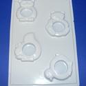 Állat-23 - gipszöntő forma (4 motívum) - szalvétagyűrű, Szerszámok, eszközök, Egyéb szerszám, eszköz, Gipszöntés,         Állat-23 - gipszöntő forma - szalvétagyűrű  - sablon: 18x29 cm- minta: 5-8 cm Az ár egy dar..., Alkotók boltja