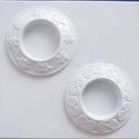 Mécses-10 - gipszöntő forma (2 motívum), Szerszámok, eszközök, Egyéb szerszám, eszköz, Gipszöntés,          Mécses-10 - gipszöntő forma   - sablon: 15x16 cm- minta: Ø 7,5 cm Az ár egy darab termékre..., Alkotók boltja