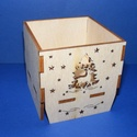 Karácsonyi mécsestartó (szarvas/1 db) - összerakható, Fa, Famegmunkálás, Egyéb fa,  Karácsonyi mécsestartó - összerakható - szarvas     Mérete: 6,5x6,5 cmMagassága: 7 cmAnyaga: natúr..., Alkotók boltja