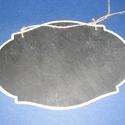 Krétatábla (26x17,2 cm/1 db) - kétoldalú, Fa, Famegmunkálás, Egyéb fa,  Krétatábla kétoldalú - kétoldalú  A tábla mérete: 26x17,2 cmAnyaga: natúr fa, nem pácolt, nem keze..., Alkotók boltja